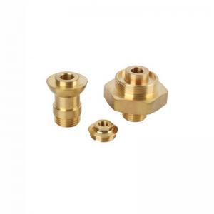 China Passivation C36000 Brass CNC Turned Parts Ra0.1 CNC Machined Brass Part factory
