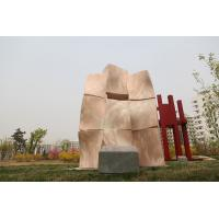 China Landscape sculpture with Natural stone for city factory
