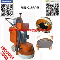 Buy cheap Single Phase Concrete Floor Grinder Single Plate Epoxy Floor Grinding Machine from wholesalers