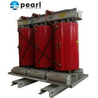 China Red Cast Resin Dry - Type Distribution Transformer With Rated Capacity 125KVA on sale