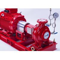 Buy cheap 750 GPM End Suction Centrifugal Pump Set / 142 PSI Eaton Controller Fire Pump Set from Wholesalers