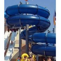 Buy cheap Fiber glass spiral water slide with different color for water park from Wholesalers