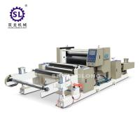 China Automatic Polyethylene LD Custom Embossing Machine  for Baby Diaper factory