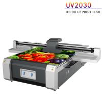 China UV Flatbed Digital Printing Machine For Advertising Printing Industry factory
