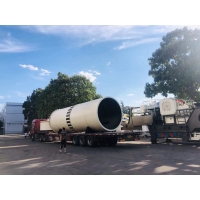 China 12000-42000mm Ore Dressing Equipment industrial rotary dryer factory
