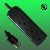 China UL 3 Outlet indoor extension cord, 6' factory