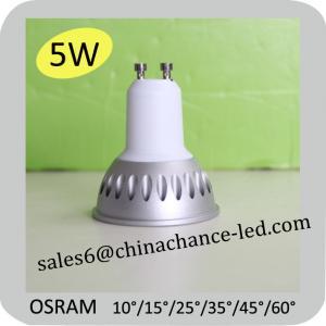 Buy cheap gu10 led 5w dimmable spotlight 2700k osram led gu10 from Wholesalers
