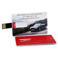 Buy cheap Credit Business Card USB Drive Flash Drive Memory Stick 4GB-32GB Colorful Print from Wholesalers