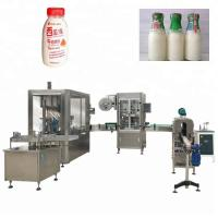 China Plastic / Glass Bottle Automatic Liquid Filling Machine Used For Beverage / Food / Medical factory