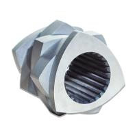Buy cheap CTE 75 Plastic Extruder Machine Parts , Extruder Screw Material Double Screw Type from Wholesalers