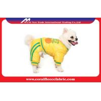 China Cotton Four-leg Dog Cute Pet Clothes , United States Basketball Even Pants Suit factory