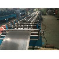 Shelf Standing Automatic Roll Forming Machine 380V A3 Steel Plate Rack Gear Drive