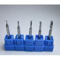 China Spiral Bits Solid Carbide WC 90.0% Single Flute End Mill factory