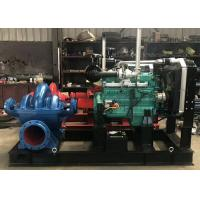 Buy cheap Large Capacity Horizontal Multistage Centrifugal Pump Diesel Engine Split Case from wholesalers