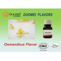 Nature Rich Osmanthus Flavor Confectionery Water Based Food Flavoring