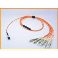 Buy cheap 24 Fibers Aqua Fiber Patch Cable Singlemode OS2 3.0mm LSZH Optical Jumpers from Wholesalers