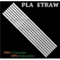 China Eco-friendly straw for drinking use, 100% compostable straw, PLA folding drinking straw factory