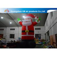 Buy cheap Hot Selling Outdoor Giant Inflatable Santa Claus  Christmas Yard Decorations from Wholesalers