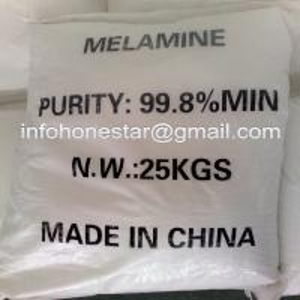 China melamine powder 99.8 factory