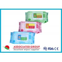 Buy cheap Various Packages Baby Wet Wipes Plain Spunlace Nonwoven Bulk Alcohol Free from Wholesalers
