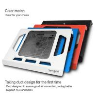 Buy cheap plastic slim notebook coolind pad with singe USB fan from Wholesalers