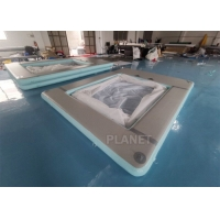 Buy cheap Double Wall Fabric Floating Ocean Sea Swimming Pool Inflatable Yacht Pool from wholesalers