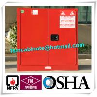 China Fireproof Hazardous Industrial Safety Cabinets For Flammable And Combustible Liquids factory