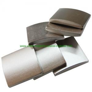 China N42H neodymiun magnet for permanent magnet dc motors factory