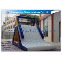 China Customized Adults / Kids Inflatable Water Slide Floating Sports Game factory