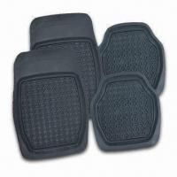 China Rubber Car Mat, OEM Orders are Eelcome, Available in Black Color factory