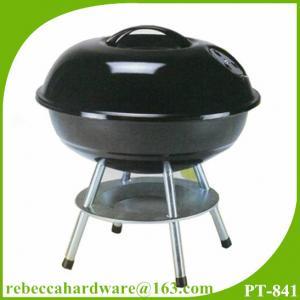 Quality معدات شواء المحمولة 14 بوصة شواء صغير غلاية الفحم للشواء الجدول for sale