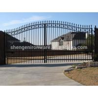 China wrought iron fence on sale
