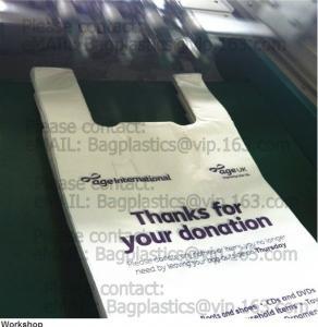 China Poly donation bags, charity sacks, green sacks, yellow bags, pe envelope, charity bags factory