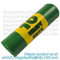 China Green sacks, seal bags, c-fold bags, bags on roll, roll bags, produce roll, HDPE sacks factory