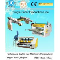 Buy cheap Single Facer Line Shaft Corrugated Sheet Cutter Width 1600mm 0 - 100 m / Min from Wholesalers