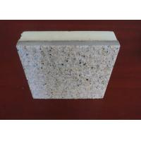 China Beautiful Appearance Natural Stone External Wall Insulation Boards With Real Stone Painting Surface on sale