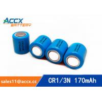 China CR1/3N 3.0V 170mAh limno2 battery manufacturer factory