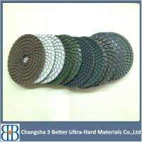 Buy cheap 4inch 7inch Wet diamond polishing pad from Wholesalers