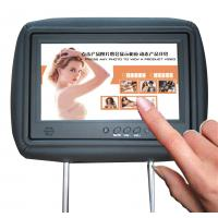 China Patented 4G Lte Car Seat LCD Screen 10.1'' 500cd/m2 Brightness SD Card USB2.0 Input on sale