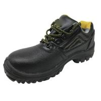 China Military Steel Toe Boots , High Hardness Steel Toe Hiking Boots Goodyear Welt Construction factory