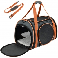 China Sided Open Chihuahua Dog Multi Functional Sport Bags With Mesh Windows factory