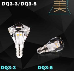 China diamond led bulb lamp crystal light candle bulb led factory