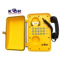 Buy cheap IP67 Weatherproof Telephone Lightning Protection , Railroad Tele Phones from Wholesalers