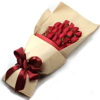 Buy Custom Kraft Paper Wrapping Sheets Recycled Floral Flower