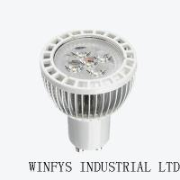 Buy cheap 5W high power led spotlight gu10 with CE,RoHS SL-5X1W(F) from Wholesalers