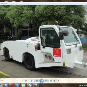 China 27500 Kilogram Aircraft Tow Tractor Reverse 20 Km / H Max Speed Long Life Span factory