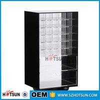 China Wholesale Competive Price acrylic Black Spinning Makeup Organizer factory