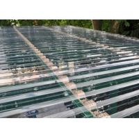Buy cheap Transparent Corrugated Polycarbonate Sheets For Roof Covering 0.8 - 1mm Thickness from Wholesalers