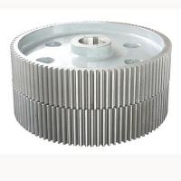 Buy cheap Alloy Steel Machined Spur Gears , Large Low Speed Gearbox Gears from Wholesalers