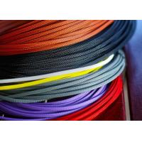 Buy cheap Lightweight / Flexible Braided Nylon Sleeve For Electric Wire Protection from Wholesalers